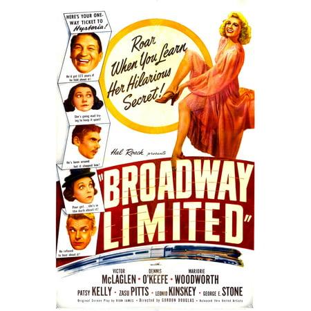 Broadway Limited U Canvas Art - (24 x 36)
