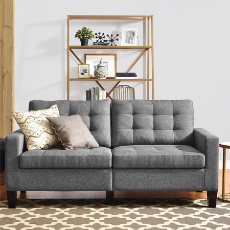Dorel Living Bowie Sofa Gray