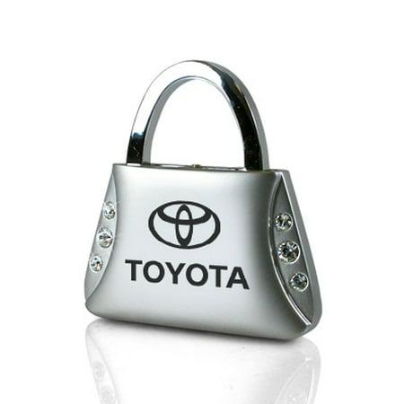 Toyota 4runner Crystal - toyota clear crystals purse shape key chain