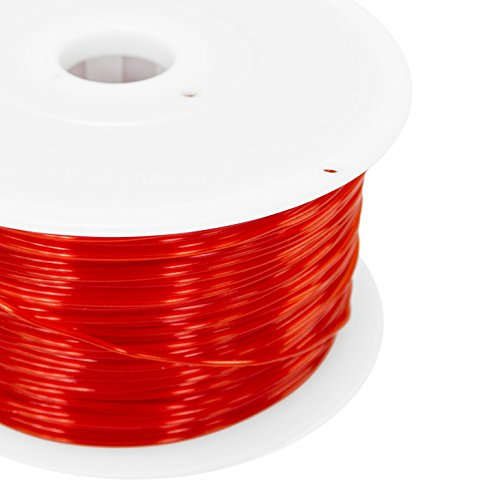 Mywerkz 1.75mm PLA Filament for 3D Printer - Red 24014