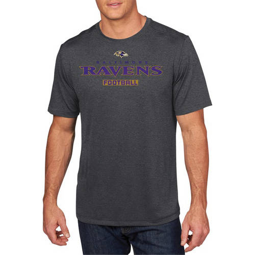 NFL Big Men's Baltimore Ravens Synthetic Tee, 2XL