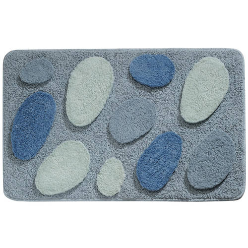 InterDesign Pebblz Bath Rug, 34x21