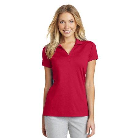 Port Authority® Ladies Rapid Dry™ Mesh Polo. L573 Engine Red L - image 1 de 1