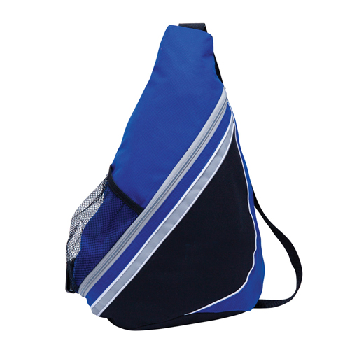 THE STREAMLINE SLING BACKPACK BLUE