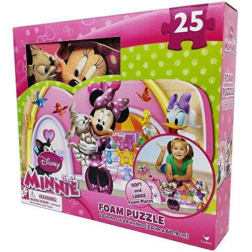 Disney Minnie 25 Piece Floor Foam Puzzle Mat Multi Colored