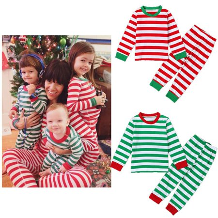 Children Baby Kid Girl Boy Nightwear Pajamas Pyjamas Sleepwear Suit Christmas ()