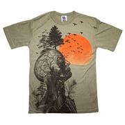 The Hangover Alan Human Tree Dark Khaki Adult Costume T-Shirt