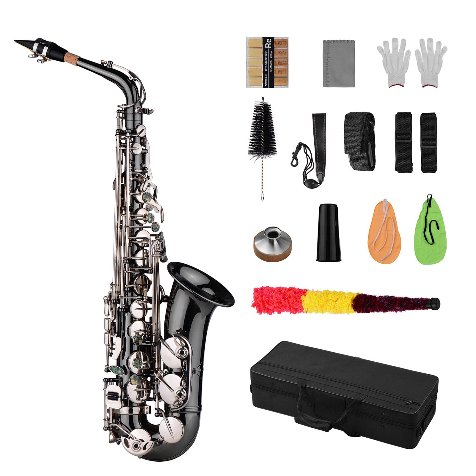 A Soft Saxophones Bend Neck Cleaning Brush Sax Clean Care Kit