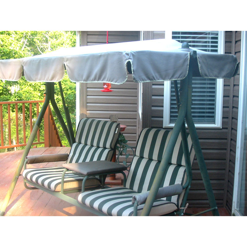 Garden Winds Replacement Canopy Top for Walmart 2 Seater Swing  sc 1 st  Walmart.com & Garden Winds Replacement Canopy Top for Walmart 2 Seater Swing ...