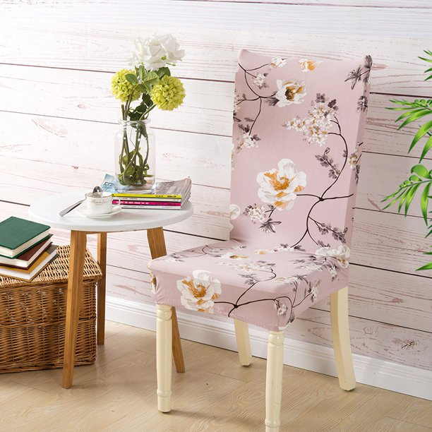Modern Dining Chair Covers Stretch Removable Washable Dining Chair Protector Parsons Chair Slipcover For Hotel Club Walmart Com Walmart Com