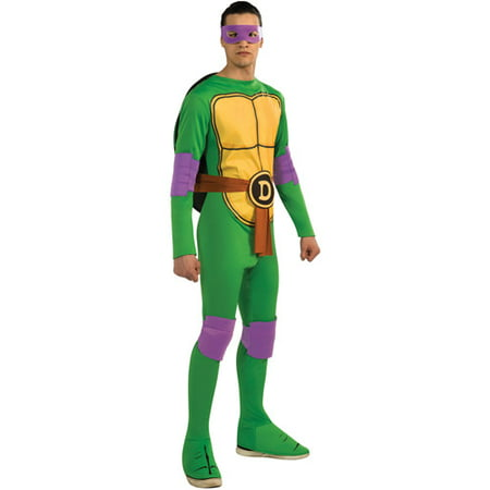 Teenage Mutant Ninja Turtles Donatello Adult Halloween Costume](Adult Ninja Costumes)