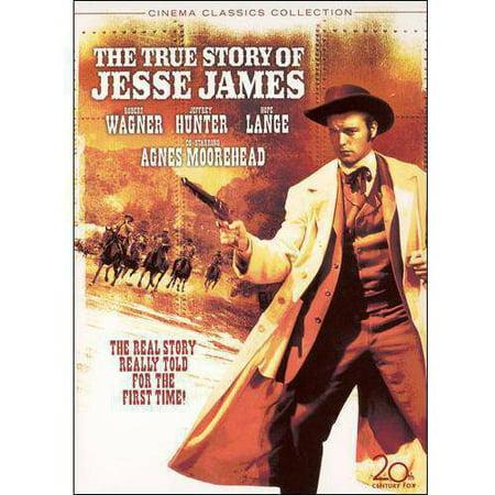 The True Story Of Jesse James  1957