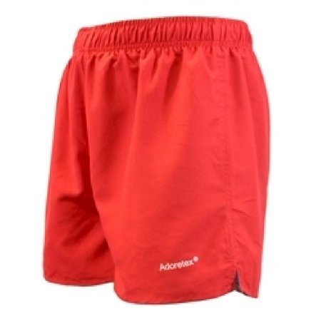 Adoretex Men's Surf Runner Volley Shorts Workout & Swim Trunks (M0009) - Red -