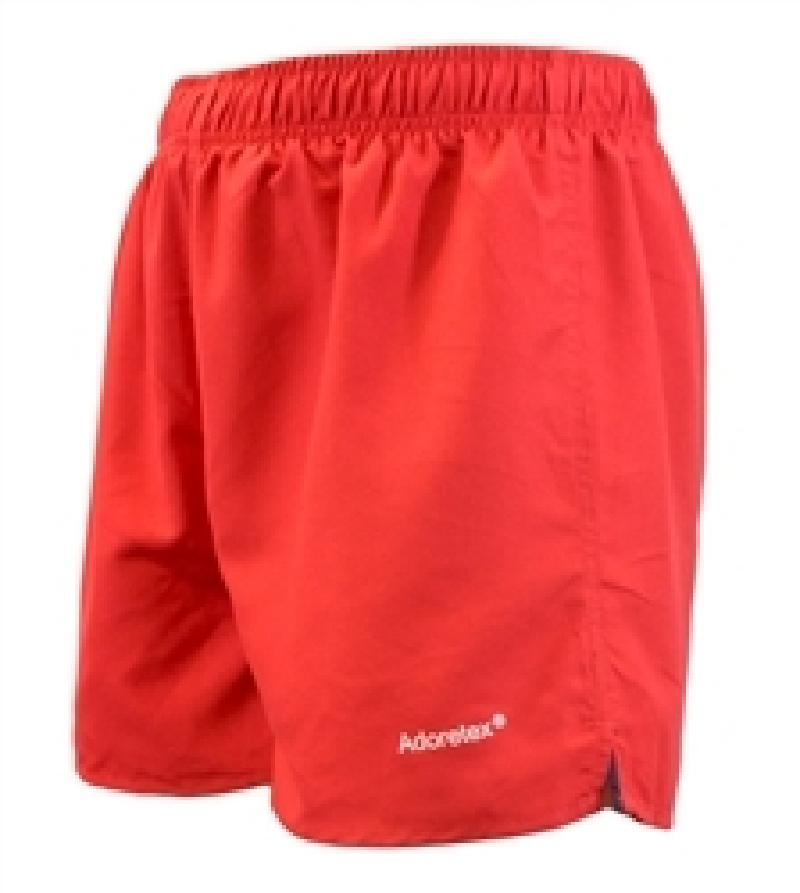 Adoretex Men's Surf Runner Volley Shorts Workout & Swim Trunks (M0009) - Red - Small