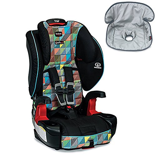 Britax Frontier G1.1 ClickTight Harness-2-Booster Car Seat With Seat Saver Waterproof Liner, Vector