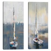 Morning Masts I & II by Studio Arts Set of 2 Canvas Prints