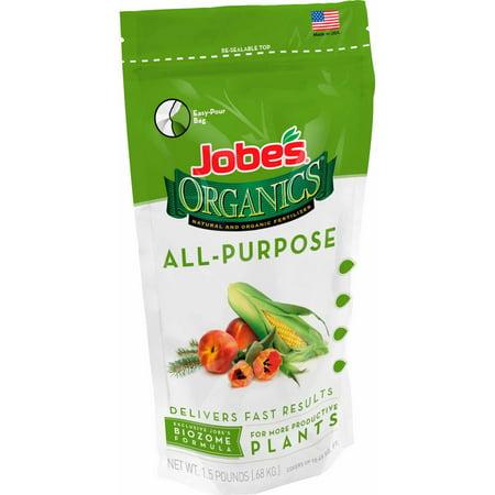 Jobe's Organics All-Purpose Fertilizer, 1.5 lbs