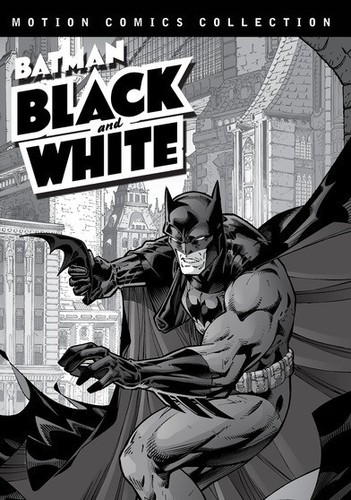 Batman Black and White: Motion Comics Collections 1 & 2 by WARNER HOME ENTERTAINMENT