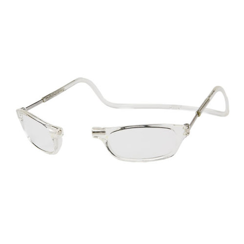 Clic Goggles Clear 200 Reading Glasses Magnetically Clic From