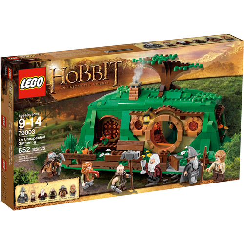 LEGO Hobbit An Unexpected Gathering Play Set
