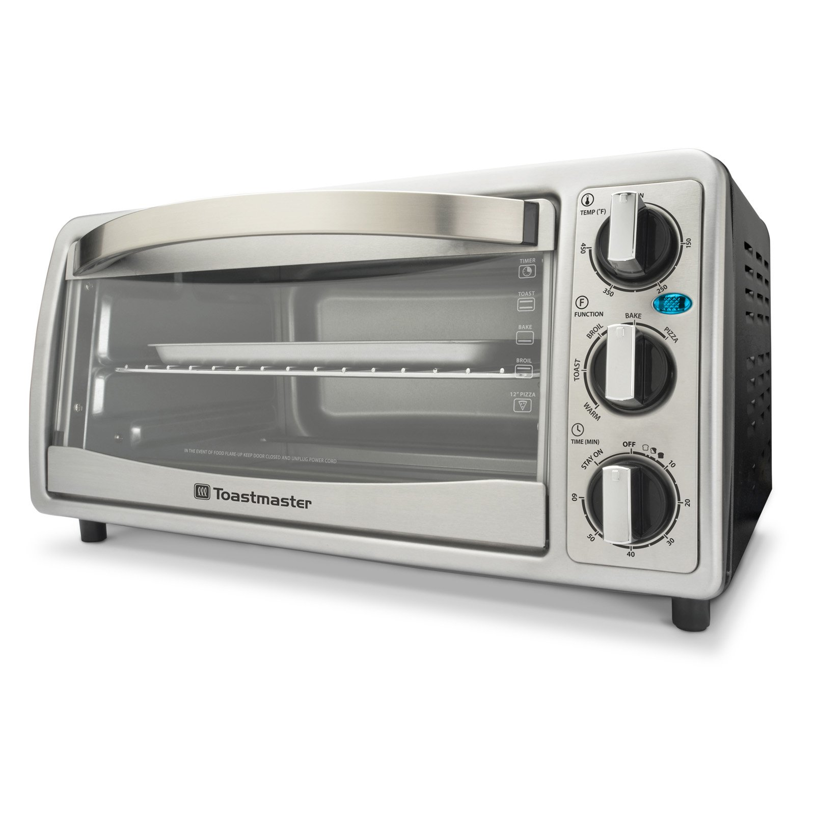 6-Slice Silver Toastmaster Toaster Oven by Toastmaster