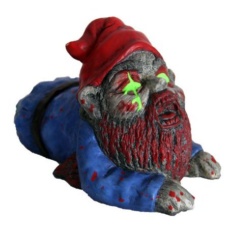 Zombie Yard Gnomes (Thumbs Up! Zombie Crawler Garden)
