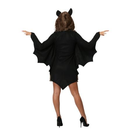 Women's Plus Size Deluxe Bat Costume - image 1 of 2