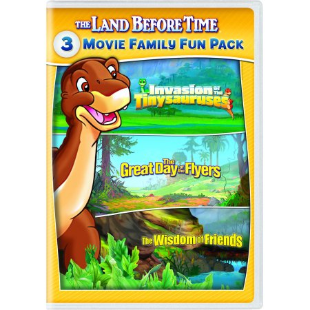 The Land Before Time XI-XIII 3-Movie Family Fun Pack (DVD) - Best Fun Halloween Movies