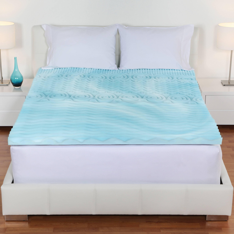 foam mattress topper 3 39 39 king size car camping pad memory orthopedic bed cover l 811190011055 ebay. Black Bedroom Furniture Sets. Home Design Ideas