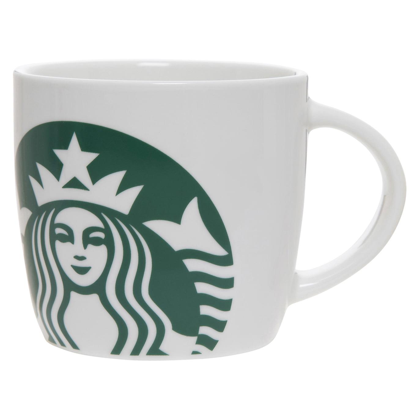 Starbucks 14oz White Ceramic Mug Walmart Com Walmart Com