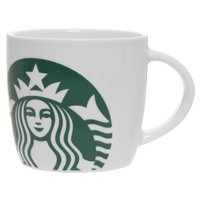Deals on Starbucks 14 Ounce Ceramic White Mug