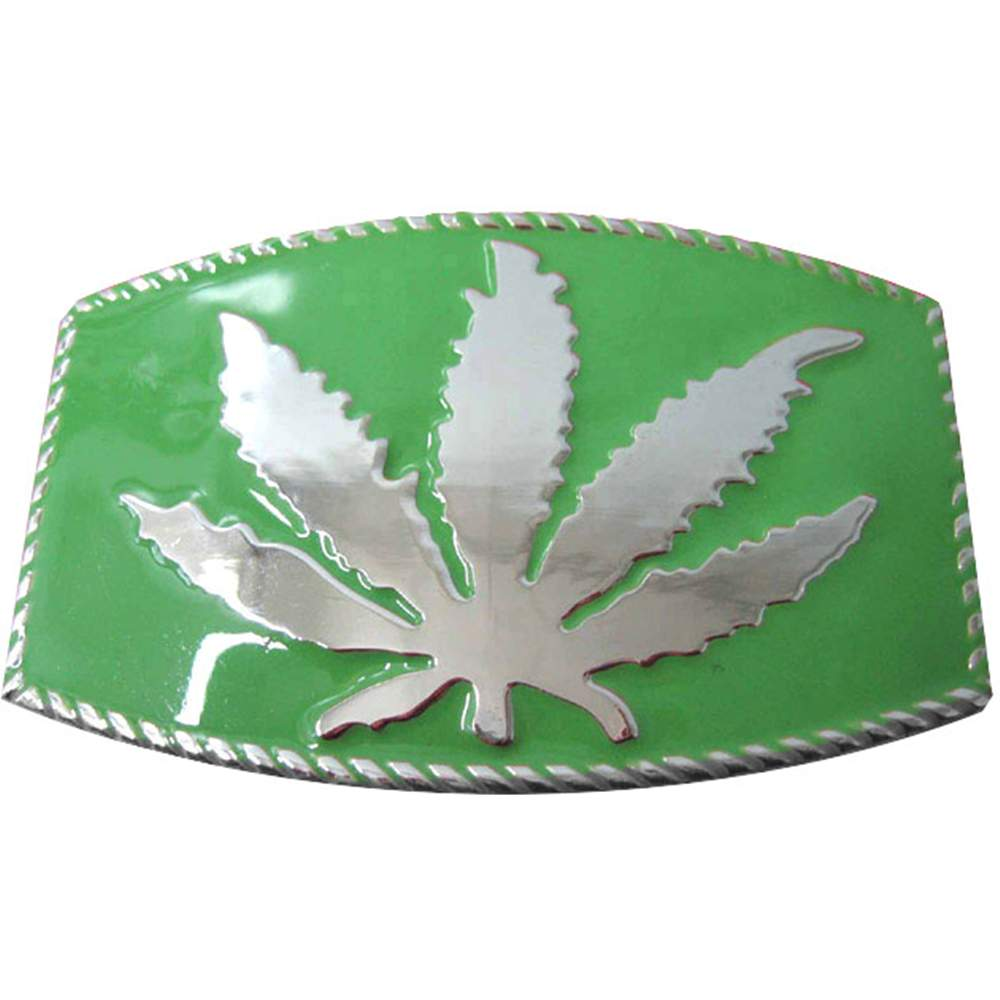Pot Leaf Belt Buckle