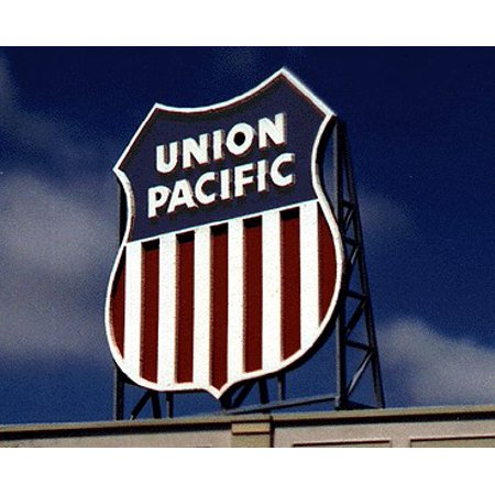 Blair Line Ho Scale Building - Union Pacific Billboard Kit For HO, S, O Scale