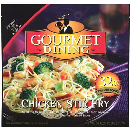 6/28oz Gd Chicken Stir Fry (Fried Chicken Dinner)