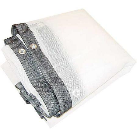10x10 foot white shade net screen mesh netting tarp square for 10x10 in square feet