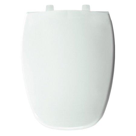 Thunder Grey Elongated Toilet Bowl (Bemis B1240205000 Elongated Closed Front Whisper Close Toilet Seat in)