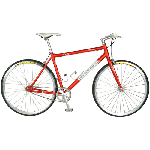 Cycle Force Tour de France Stage One Vintage Red 51cm Fixed Gear Bicycle