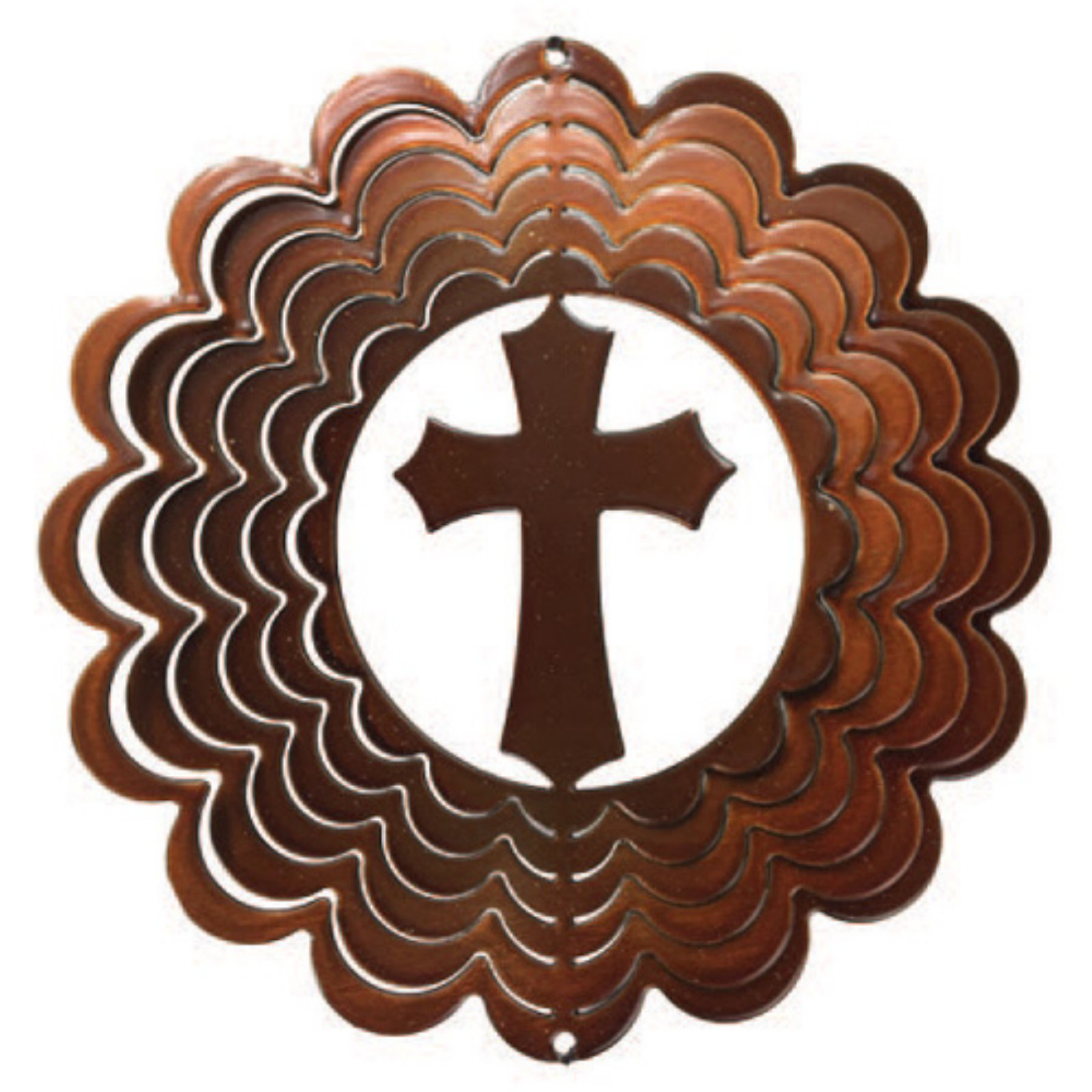 Next Innovations 6 in. Copper Cross Wind Spinner by Next Innovations
