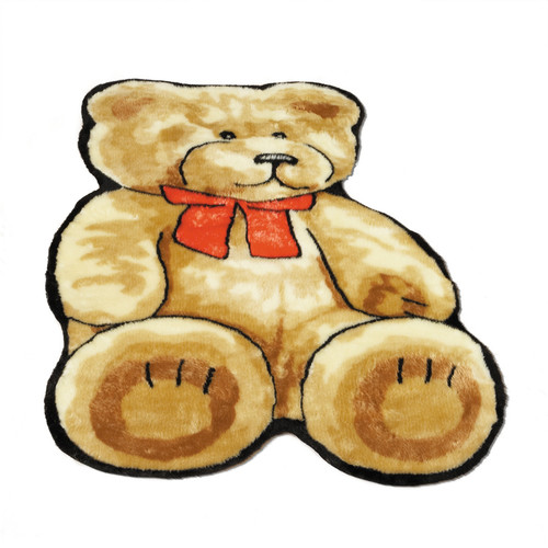 Walk On Me Teddy Bear Kids Rug
