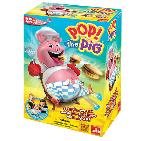 Goliath Games Pop the Pig Kids Game for Ages 4 and Up by Goliath Games, LLC