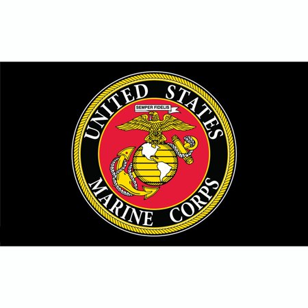 United States Marine Corps Flag with Grommets Camouflage 3ft x 5ft