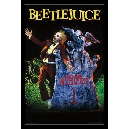 Beetlejuice - Grave Poster Print