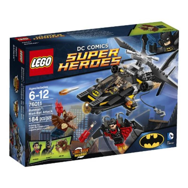 Lego Superheroes 76011 Batman: Man-Bat Attack (Discontinu...