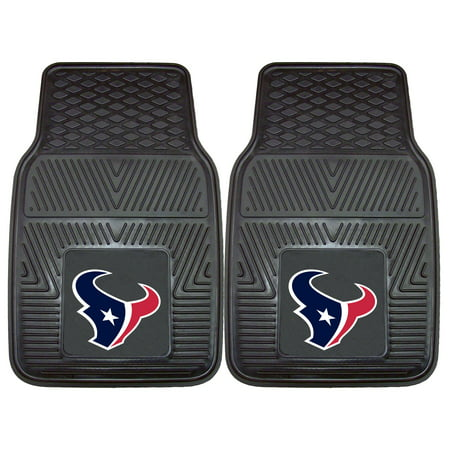 Houston Texans 2-pc Vinyl Car Mats 17