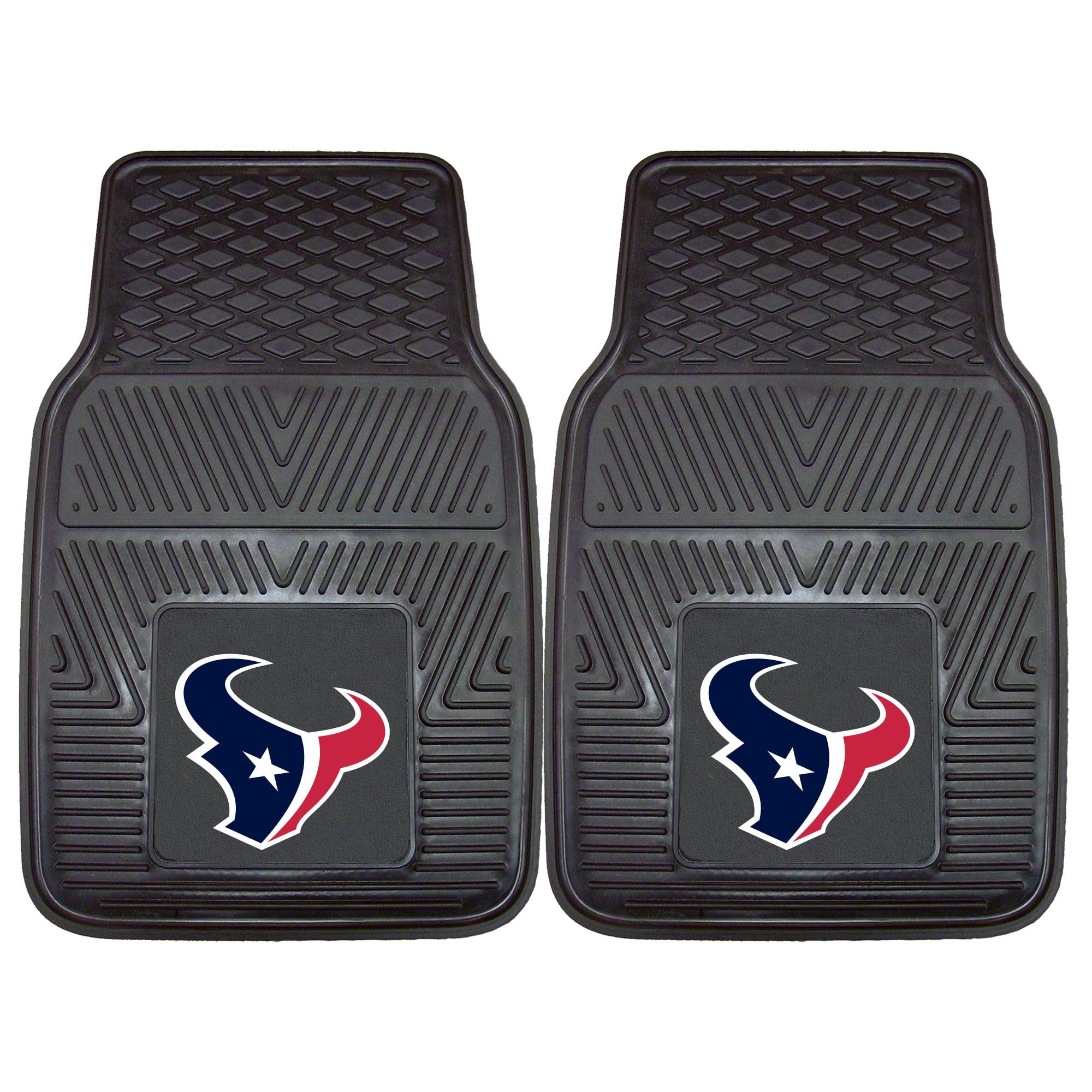 """Houston Texans 2-pc Vinyl Car Mats 17""""x27"""""""