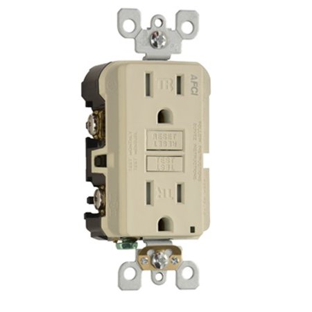 Pass & Seymour - AF15TRI - 15 Amp - AFCI - Arc Fault Circuit Interrupter -