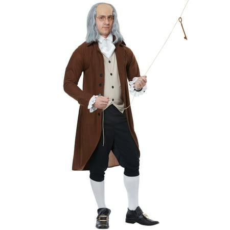 Benjamin Franklin Halloween Costume (Benjamin Franklin Adult)