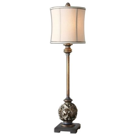 Uttermost 29291 1 shahla bronze 35 inch 100 watt aged for 100 watt table lamps