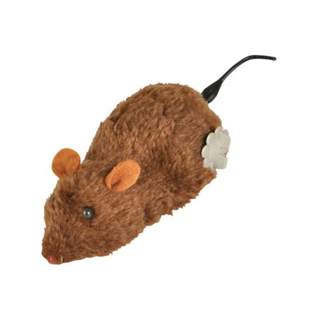 Brown Windup Wind Up Prank Animal Lab Mouse Rat Toy Decoration (Kangaroo Rat Stuffed Animals)