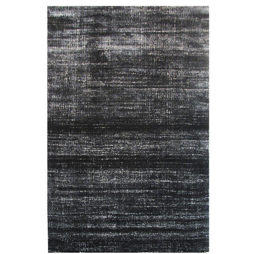 L.A. Rugs Aquarelle Black Area Rug